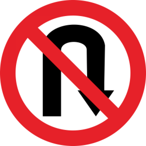 Rambu-Dilarang-Putar-U-Turn